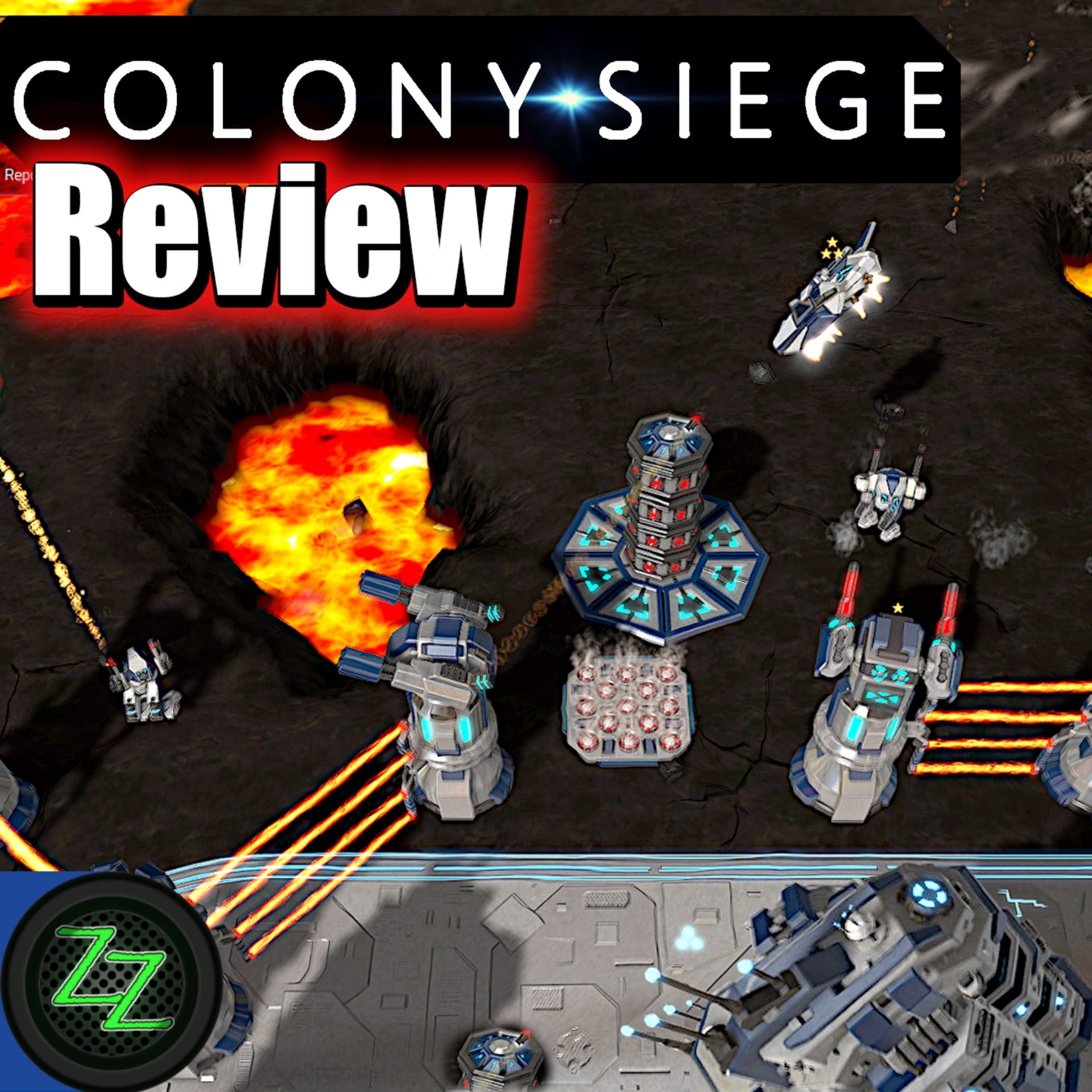Colony Siege (p)Review – RTS + Tower Defense Mix im Weltraum