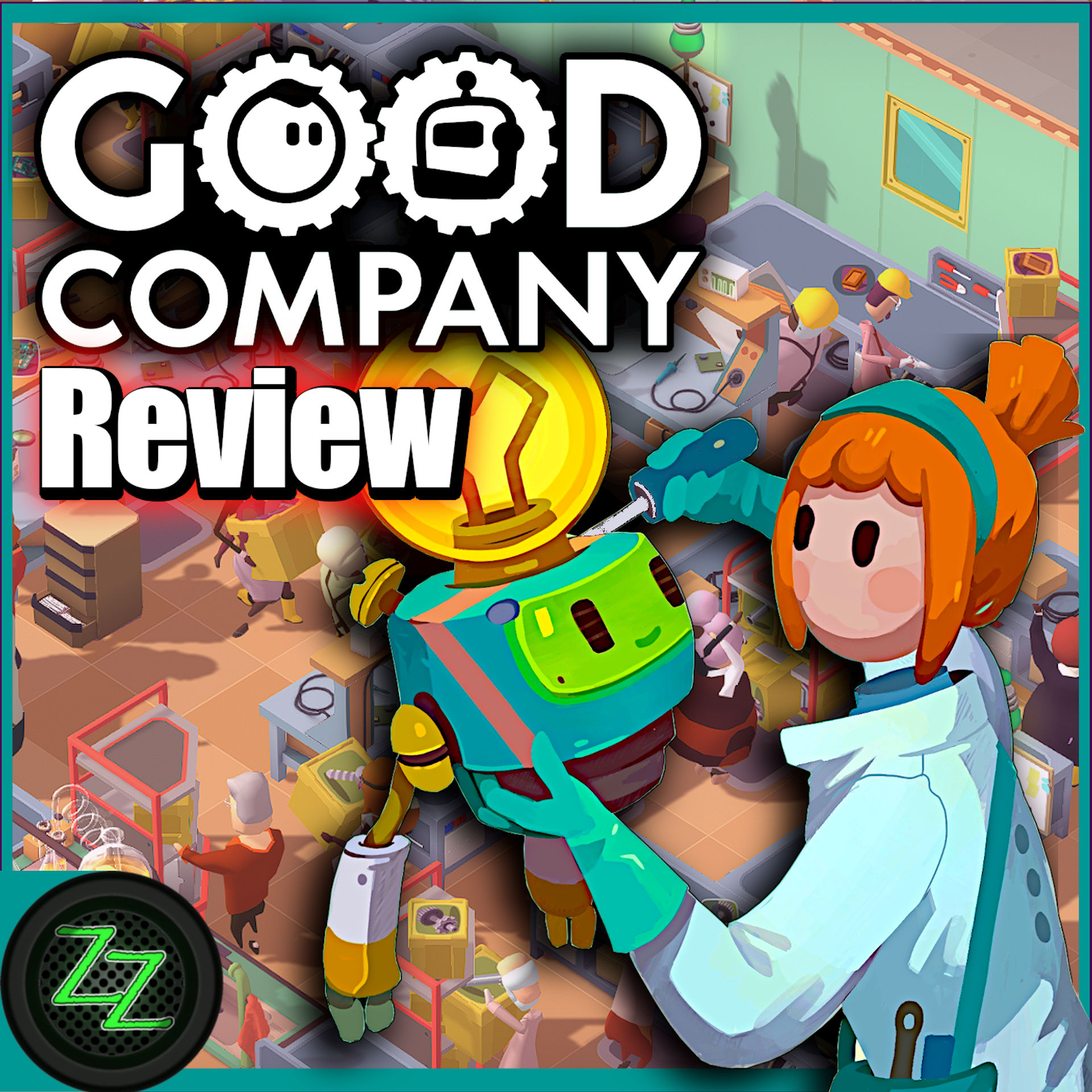Good Company Review – Test des Factory Tycoon PC Game by ZapZockt.de